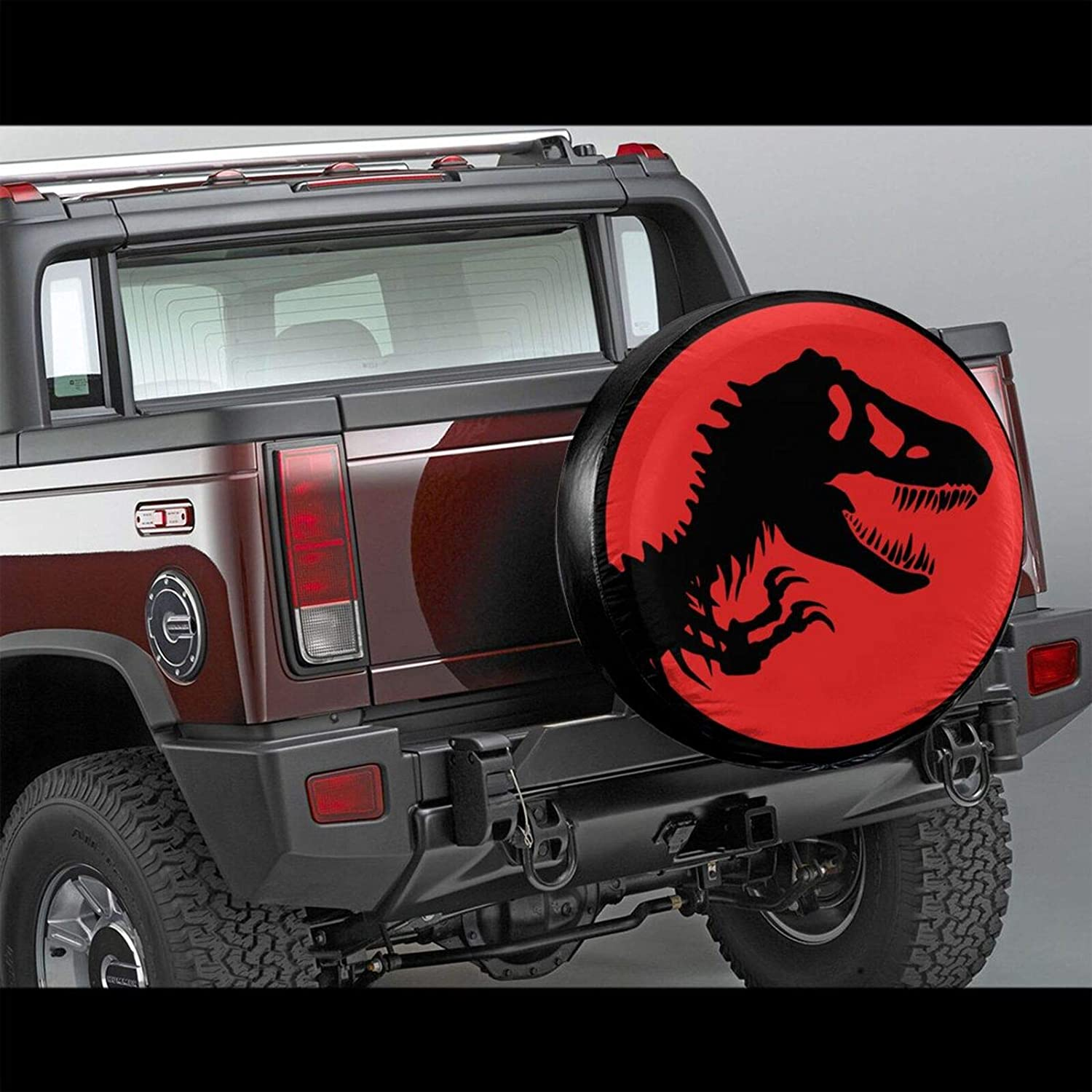 Yueye Universal Spare Tire Cover Dinosaur Bounes Wheel Tire Cover