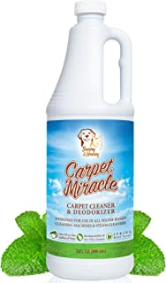 Carpet Miracle - Concentrated Machine Shampoo, Deep Stain and Odor Remover Solution, Deodorizing Formula (32FL OZ)