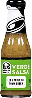 Taco Bell Verde Salsa Sauce 7.5oz Bottles (Pack of 2)
