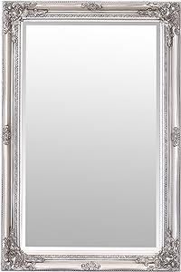Select Mirrors Rhone - Espejo de Pared (60 x 90 cm), Color Plateado