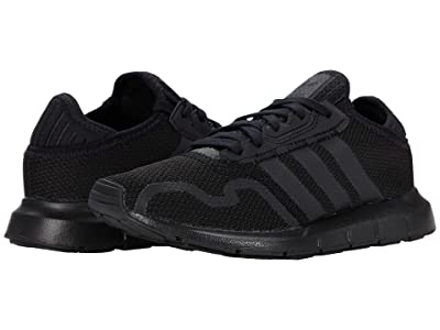 adidas Originals Kids Swift ESS J (Big Kid) (Core Black/Core Black/Core Black) Boys Shoes