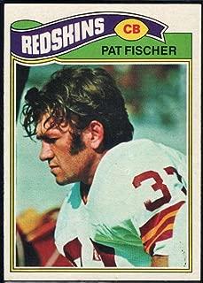 Football NFL 1977 Topps #409 Pat Fischer Redskins