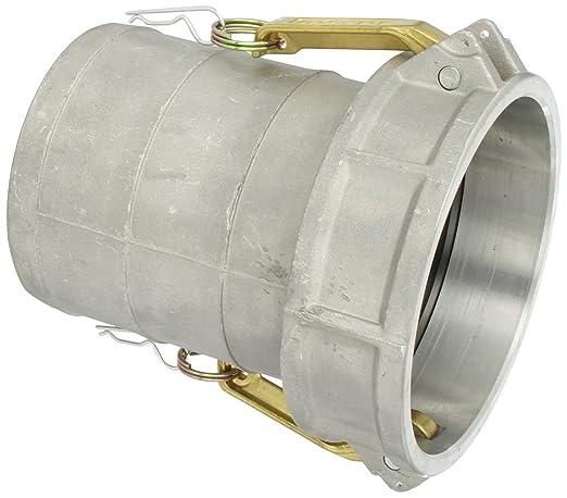2 Male Adapter X 2 Hose Shank JGB Enterprises 030-05032-832CI Aluminum Type E Cam and Groove Fitting