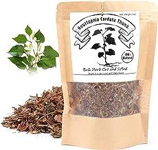 EidolonGreen [China Medicinal Herb] Houttuynia Cordata Tea, (Dokudami/Yuxingcao/鱼腥草/어성초) Chinese Herbal 100% Newly Harvest...