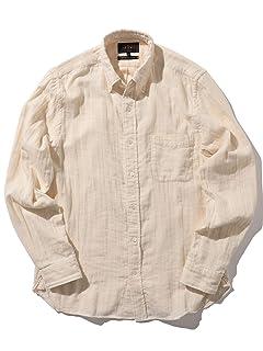 Gauze Buttondown Shirt 11-11-6303-139: Off White