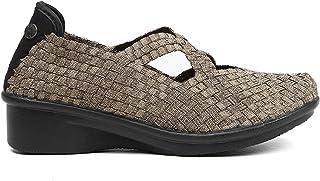 B M Bernie Mev New York damska korona - półotwarte buty, wysokość 4 cm, z pianką pamięciową, ultralekka podeszwa.