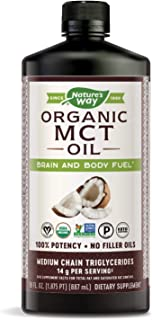 Sponsored Ad - Nature's Way 100% Potency Pure Source MCT Oil from Coconut - Certified Paleo, Certified Vegan, Non-GMO Proj...