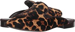 Leopard Haircalf/Dark Brown Suede