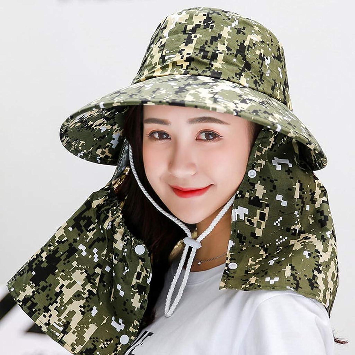 クーポンエイズ実行するUVカット 帽,レディ夏 つば広 小顔効果 吸汗通気 日焼け防止 紫外線対策 折りたたみ ベール付き 春夏用 日帽子