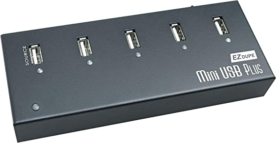 EZ DUPE 1 to 4 Mini USB Plus Duplicator Standalone Portable USB Flash Drive Copier