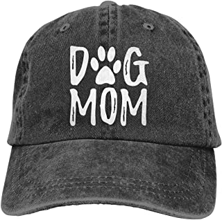 Waldeal Dog Mom Fashion Washed Twill Cotton Classic Adjustable Polo Style Baseball Cap