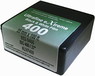 Ultrafine Xtreme Black-and-White 35mm x 100 foot Film ISO 400 Roll