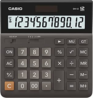 Casio DH-12 Wide Series Calculator, 0.18 kilograms