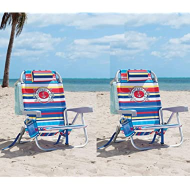 Tommy Bahama 2 Backpack Beach Chairs