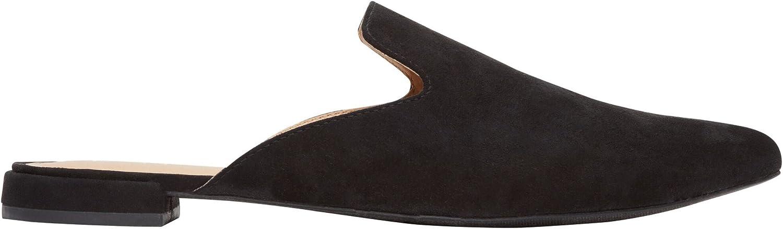 Rohb Joyce Azria Maison Almond Toe Mule (Black)