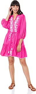 Tigerlily Women's VILLAYA Shortsleeve Dress