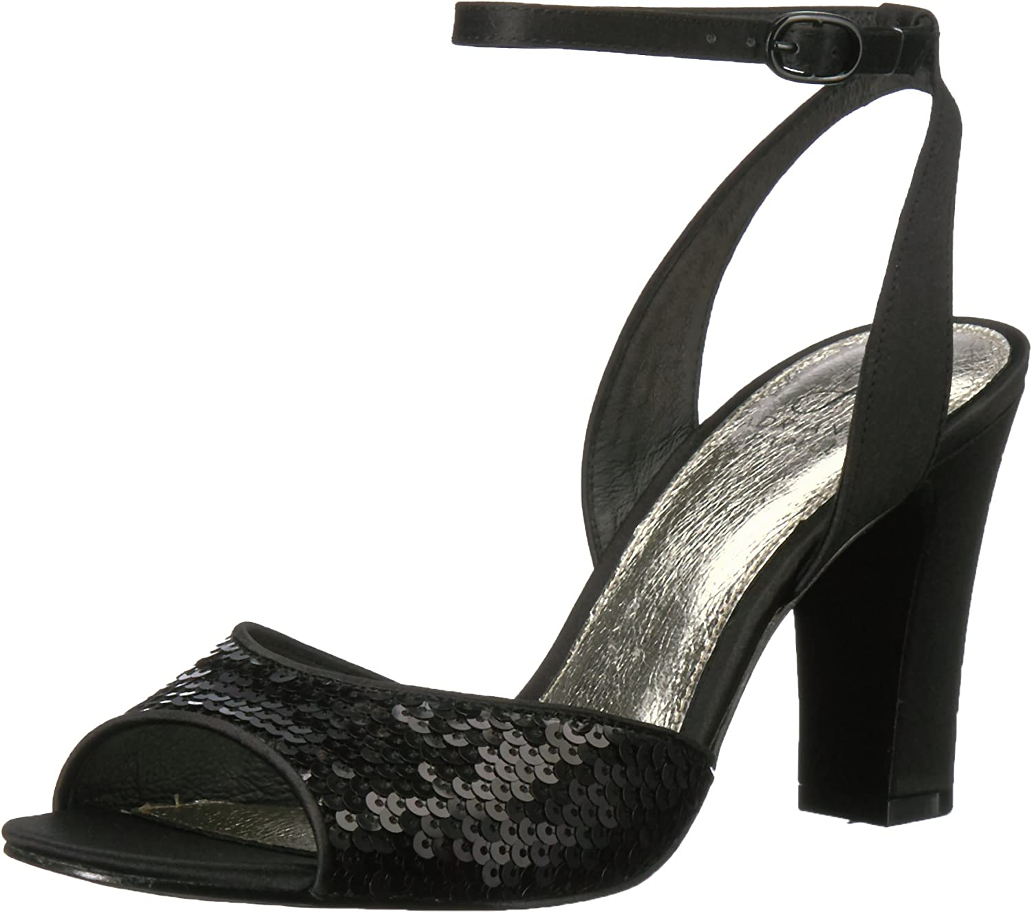 Adrianna Papell Womens Astrid Heeled Sandal
