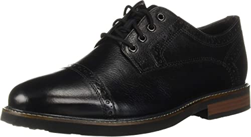 Nunn Bush Men's Overland Oxford, negro Tumble, 9 M US