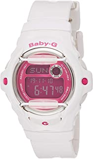Casio Baby-G For Women Digital Dial Resin Band Watch