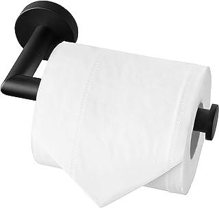 Toilettenpapierhalter schwarz Haken zur Auswahl Badezimmer Seil Toilette Umzug