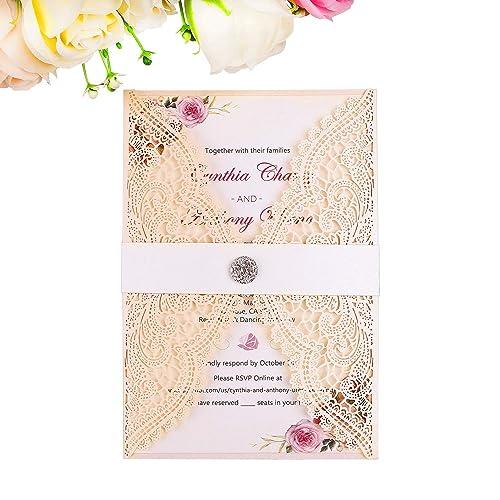 Engagement Invitations Cards Amazon