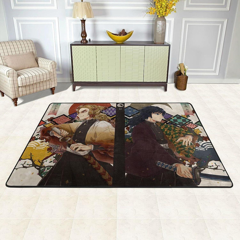 Dēmon Slayer Rug - Large special 2021 new price Rengoku Anime Carpet Extra Area
