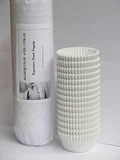 Mini Baking Cups White 1000/Pack