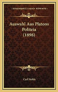 Auswahl Aus Platons Politeia (1898)