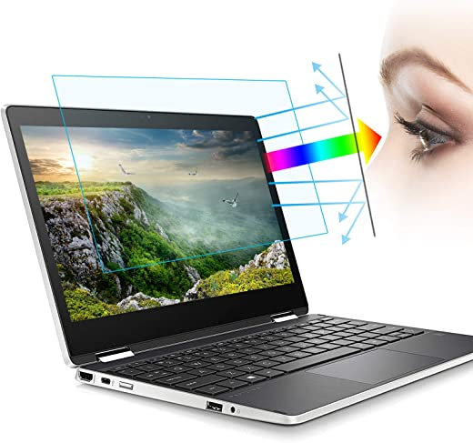 (2Pack) 11.6 Inch Anti Blue Light Laptop Screen Protector,Anti Glare Filter Eye Protection Blue Light Blocking Screen Protector(11.6 Inch 16:9 Aspect Ratio Laptop)