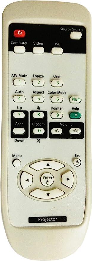 CLOB Projector Remote Control for EPSON Projector VS220.