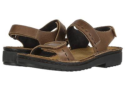 Naot Benya (Saddle Brown Leather/Brown Lizard Leather) Women