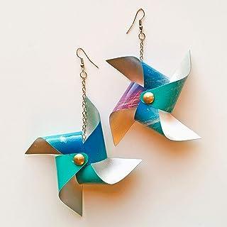 Girandola - Mono orecchino girandola - Girandola colorata - Orecchino solo - Gioielli regalo - Gioiello originale - Orecch...