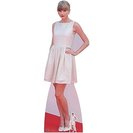 Celebrity Figura Taylor Swift Vida tamaño de cartón Tablero de la Mesa Mini Cut out, Madera, Multicolor, 182x 63x 182cm