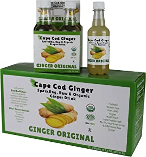 ginger ale calories sugar