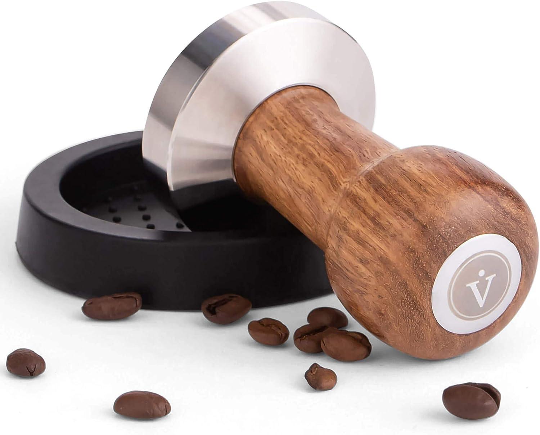 Popular standard VIENESSO Barista Tamper Set 58 mm Espresso - of stamp OFFicial sta made