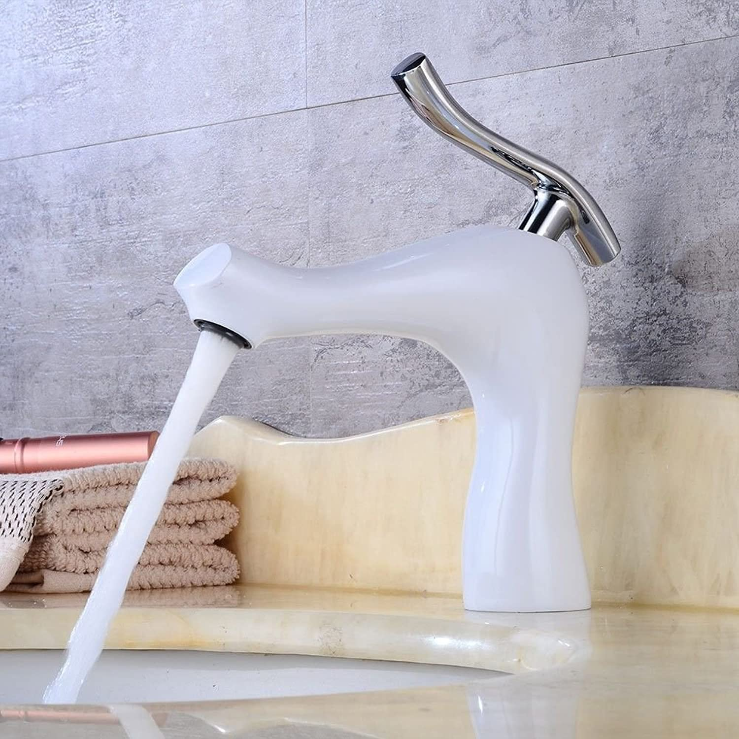 ETERNAL QUALITY Bathroom Sink Basin Tap Brass Mixer Tap Washroom Mixer Faucet Antique style brass single handle one hole ceramic valve cold water bathroom basin mixer gri