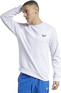 Reebok Men's Cl F Small Vector Crew Sweatshirt
