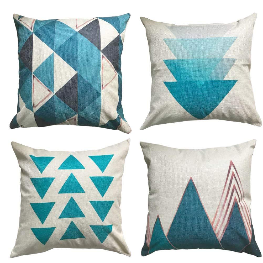 ULOVE LOVE YOURSELF Geometric Pillows