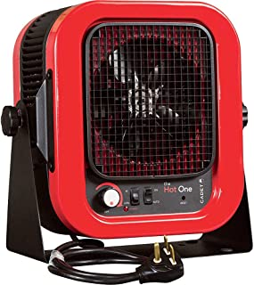 cadet 5000-watt portable electric garage heater with thermostat