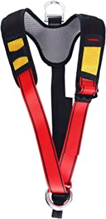 YaeCCC Climbing Harness Belt for Fire Rescue High Altitude School Assignment Caving Rock Climbing Rappelling Equipment Body Guard Protect