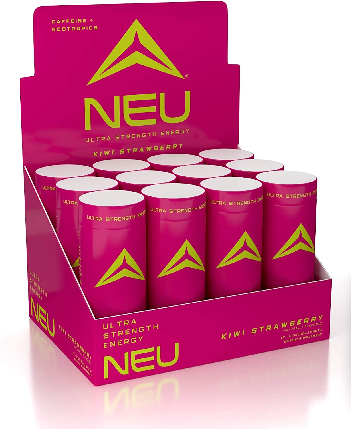 NEU Extra Ranking TOP5 Strength Energy Shots Luxury Pre Nootr Workout Drinks