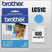 Brother LC51C Innobella Ink Cartridge, Cyan - in Retail Packaging