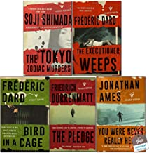 Pushkin Vertigo Crime Collection 5 Books Bundle With Gift Journal (The Tokyo Zodiac Murders, The Executioner Weeps, Bird in a Cage, The Pledge, You Were Never Really Here)
