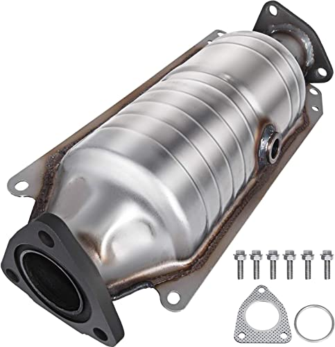 high quality Mophorn Catalytic sale Converter Compatible with 1998-2002 Honda Accord 2.3L, Direct-Fit High Flow Series Cat Converter, Stainless Steel popular Exhaust Converter Pipe w/Flange Design & Gasket (OBD III Compliant) sale