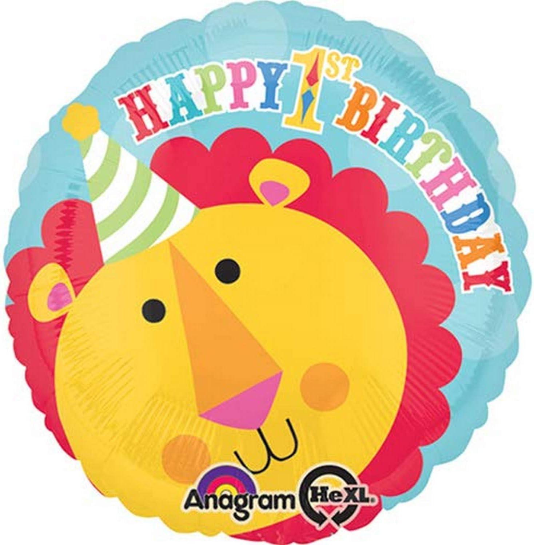 Circus Lion Foil Balloons