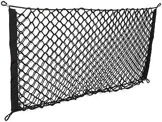 Universel voiture camion Siège arrière poche filet en nylon sac de rangement Cargo bagages organisateur Crochet avec hamac