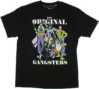 DC Comics Villains Original Gangsters Joker Penguin Graphic T-Shirt