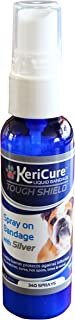 KeriCure Tough Shield Liquid Bandage, 2oz Spray on Liquid Bandage for Pets, Dogs, Cats and Small Animal Skin and Wound Care