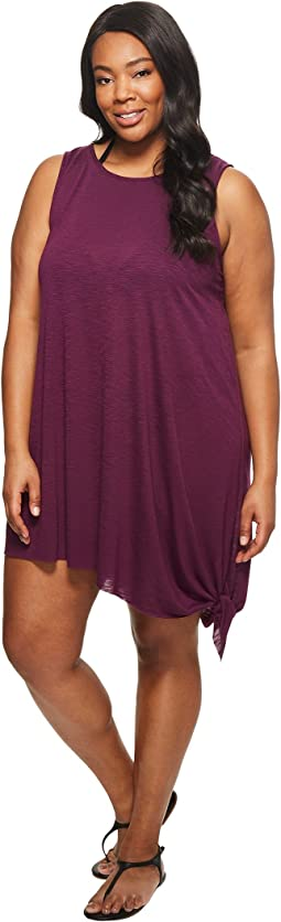 BECCA by Rebecca Virtue - Plus Size Breezy Basics Dress Cover-Up