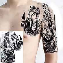 Handaxian 3pcs Tatuaje Pegatina Hombre Hombro Tatuaje Cubierto Cicatrices dragón 3pcs-10